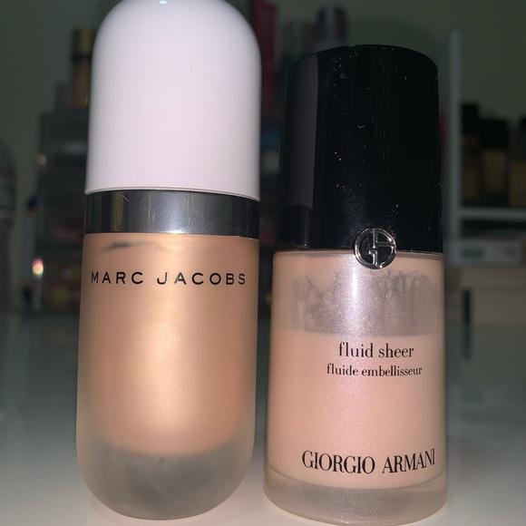 Marc Jacobs and Giorgio Armani Duo